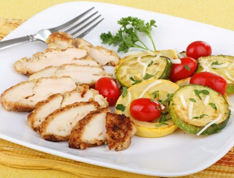 cenas nutritivas pollo