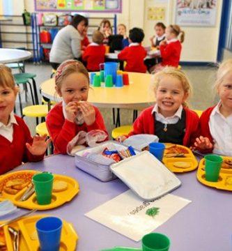 menú cenas para niños